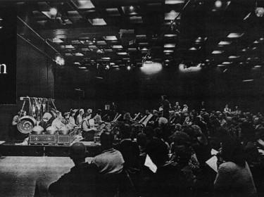 concert in het Stedelijk Museum Amsterdam